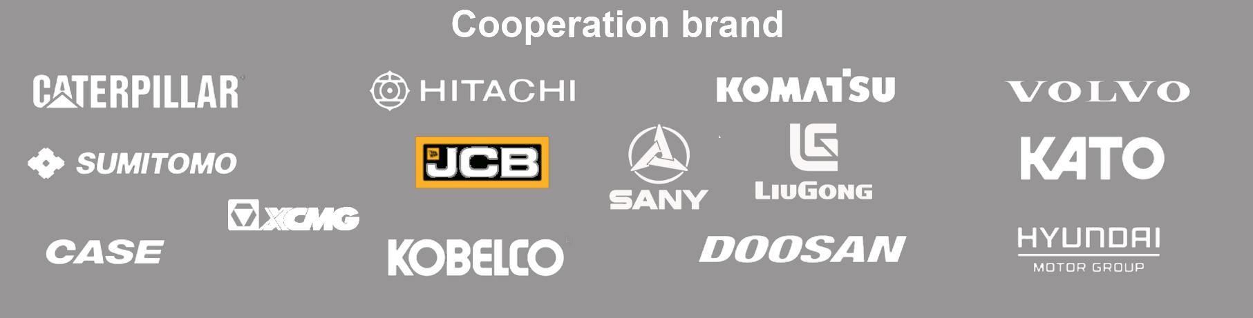 excavator brand logo